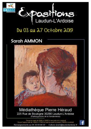 Exposition Sarah AMMON