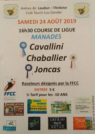 Course camarguaise 16h30