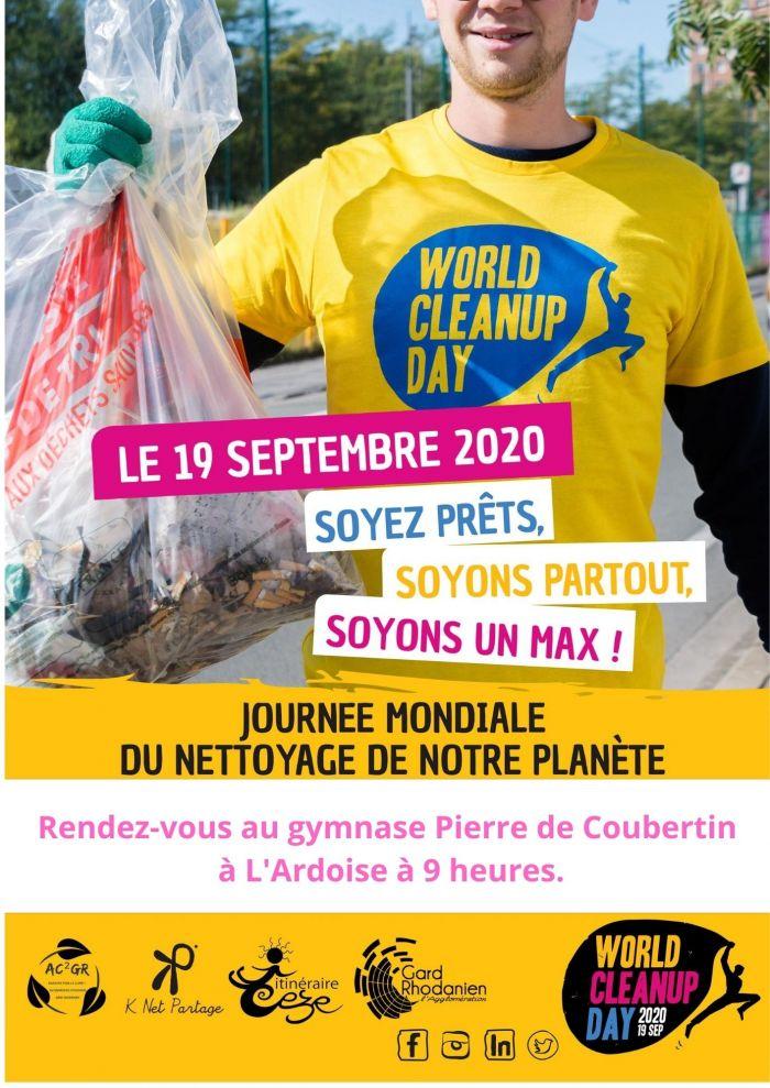 Journée nettoyage de la nature