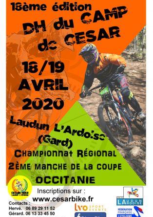 Descente VTT, Camp de César
