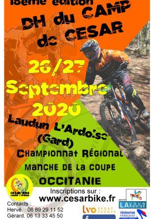 Descente VTT Camp de César