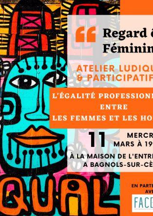 Atelier ludique et Positif Egalité professionnelle femmes et hommes