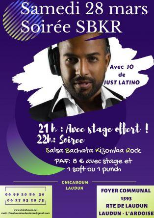 Soirée Salsa Bachata Kizomba Rock