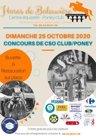 Concours de CSO Club/Poney