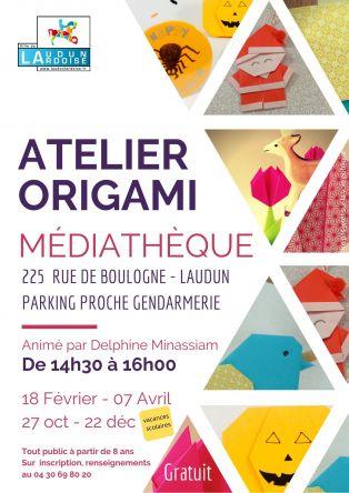 Atelier origami pour enfants et adultes