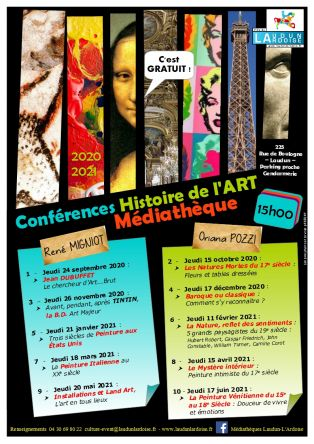 Conférence Histoire de l'Art Jean DUBUFFET, le chercheur d'Art Brut