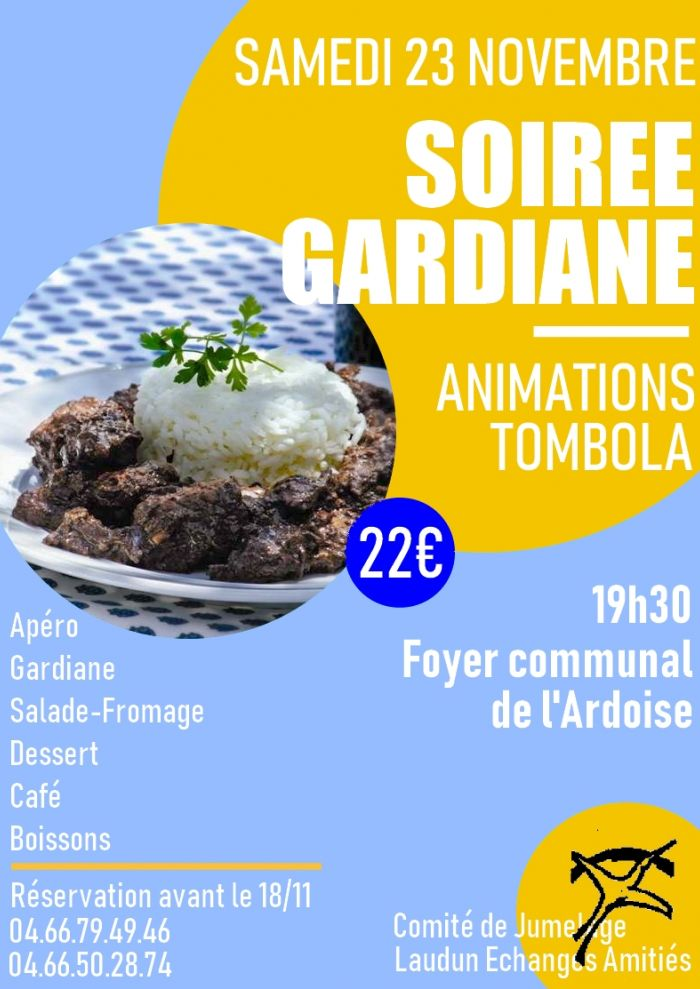 Soirée Gardiane - LEA