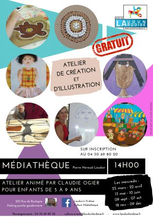 Atelier Enfants Création & Illustration