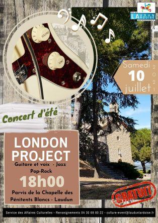 Concert d'été LONDON PROJECT