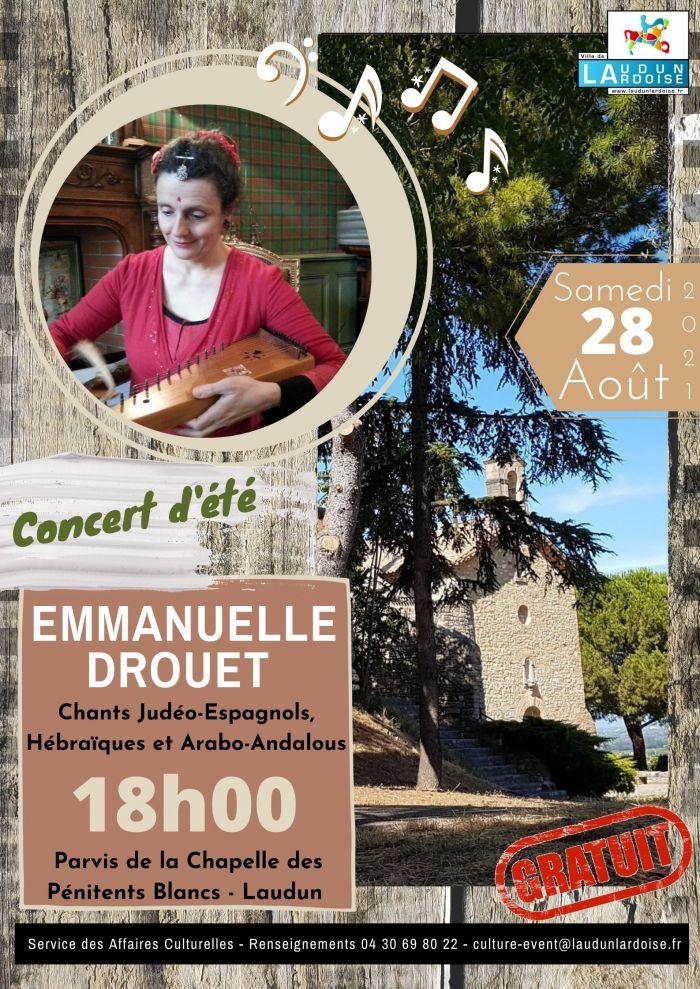 Concert d'été Emmanuelle DROUET