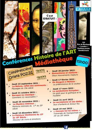 Conférences Histoire de l'ART