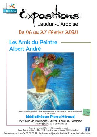 Exposition par les Amis du peintre Albert André