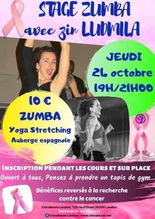 Stage Zumba & Stretching-yoga 24 octobre