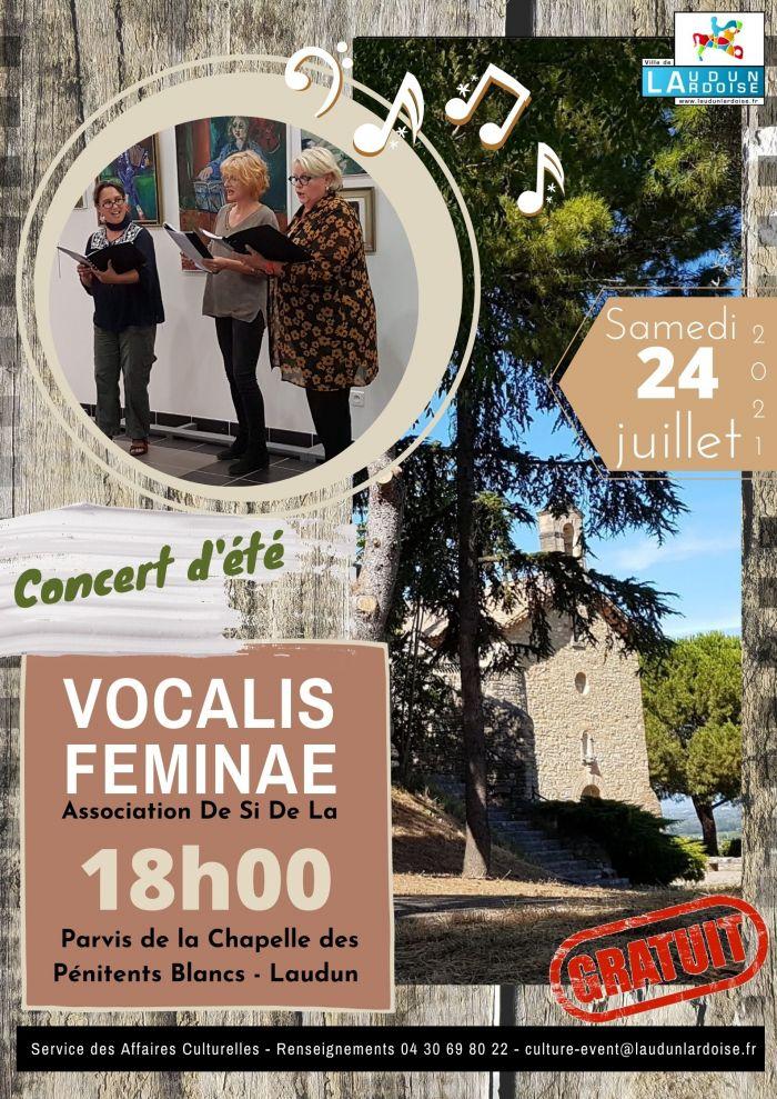 Concert d'été VOCALIS FEMINEA