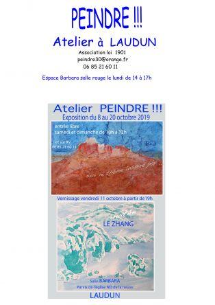 Exposition Atelier PEINDRE !!!