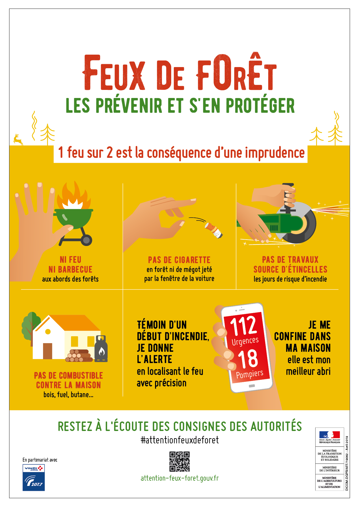 prevention feux forets 2019